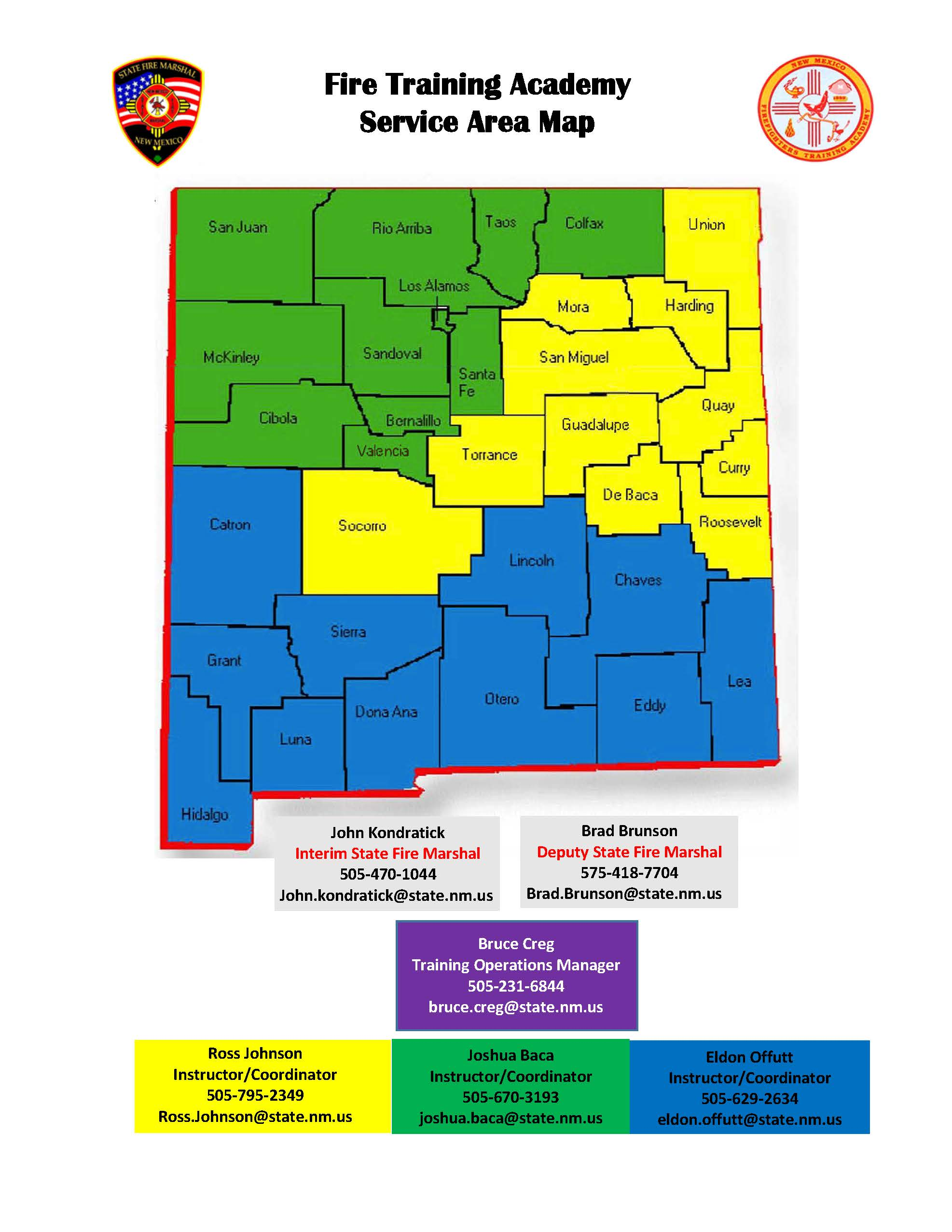 academy district map