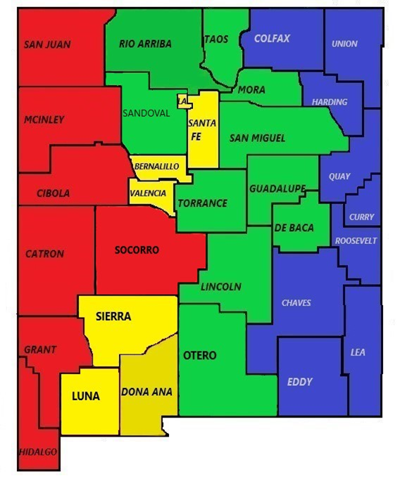 Stare Fire Marshal Service Area Map
