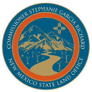 State land office logo